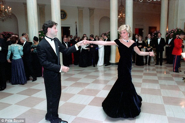 Famous: In Channel 4's Princess Diana's Dresses: The Auction, there was the dress from that night at the White House in 1985 when Diana danced with John Travolta