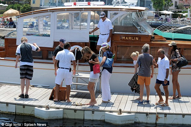 Lap pf luxury: The boat is currently owned by an Italian CEO, who bought at at auction for $167,000