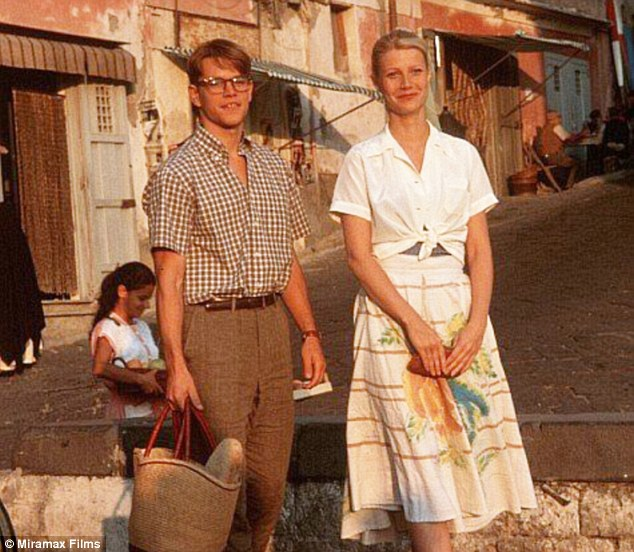 Movie set: The 1999 hit film Talented Mr. Ripley starring Mat Damon (left) and Gwyneth Paltrow (right) was filmed in Ischia