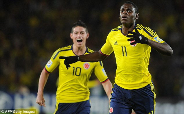 Incoming? Duvan Zapata could become West Ham's latest recruit