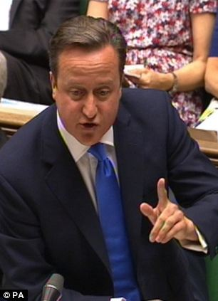 Prime Minister David Cameron said the latest employment figures were 'encouraging'