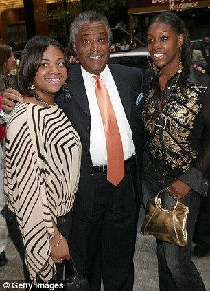 Sharpton, Dominique and Ashley