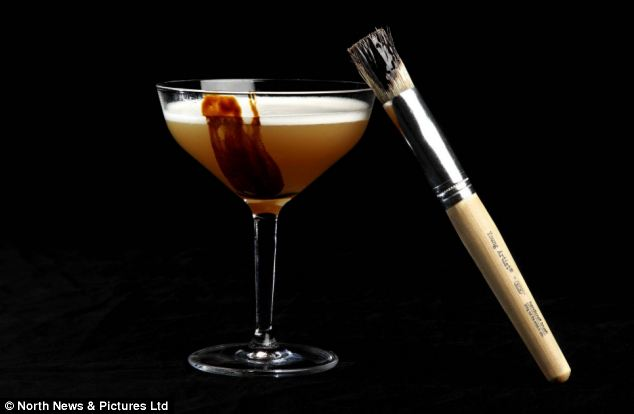 Arty: Singapore's Tippling Club serves the Dropje Daiquiri using salted licorice and Venezuelan rum