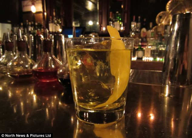Sharp: New York's Gin Palace serves this White Negroni that combines gin, Vermouth and Salers aperitif