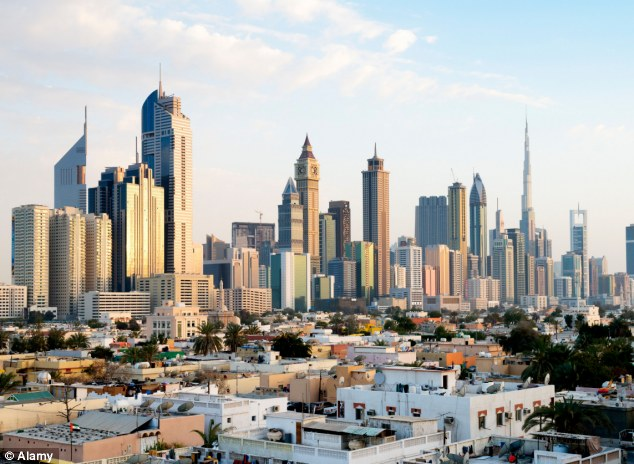 Dark side: Having been detained in Dubai since the assault in March, the woman has now been found guilty of sex outside marriage, drinking alcohol without a licence and perjury and was jailed for 16 months