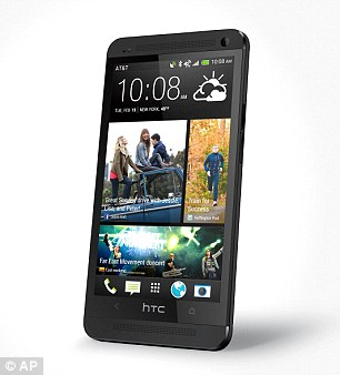 The HTC One handset, pictured, was launched in May. A Mini version could be a scaled-down model of this phone