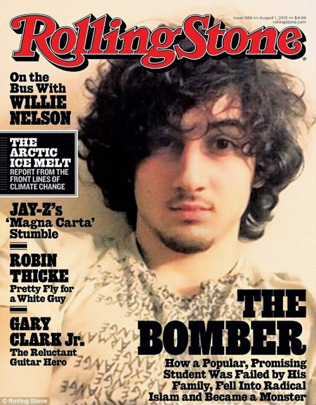 Rolling Stone magazine has been accused of glamorizing Boston bombing suspect Dzhokhar Tsarnaev by featuring him on its cover