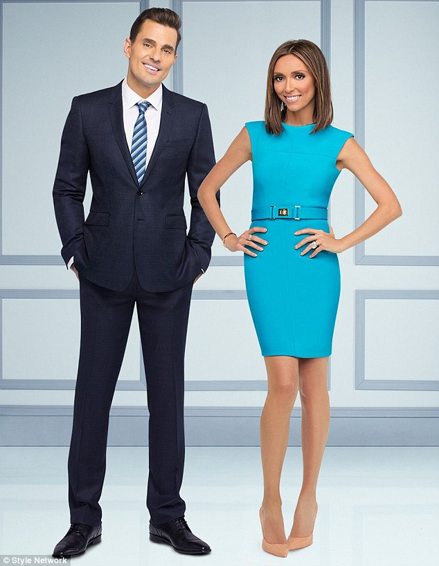 New season: The Giuliana & Bill show has been a hit for the Style Network