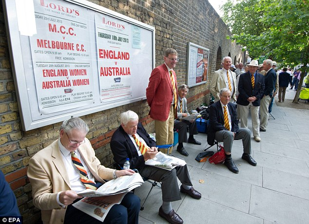 Read all about it: The MCC members get stuck into the national newspapers ahead of today's play