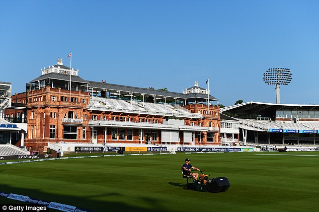 The Home of Cricket: Lord's basks in the sunshine ahead of day one