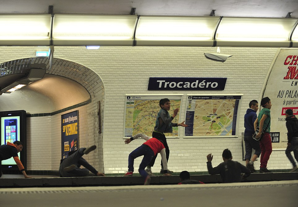 Wrong side of the tracks: Roma children run amok on the train lines of the Metro