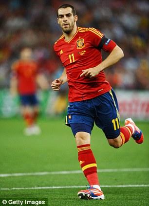 Call of duty: Negredo is a full international for Spain