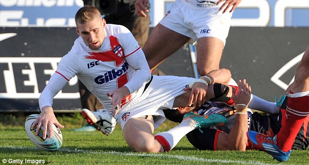 Confident: Sam Tomkins says England will win this year's World Cup on home soil
