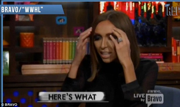Hard to imagine: Giuliana was shocked watching her brownie report