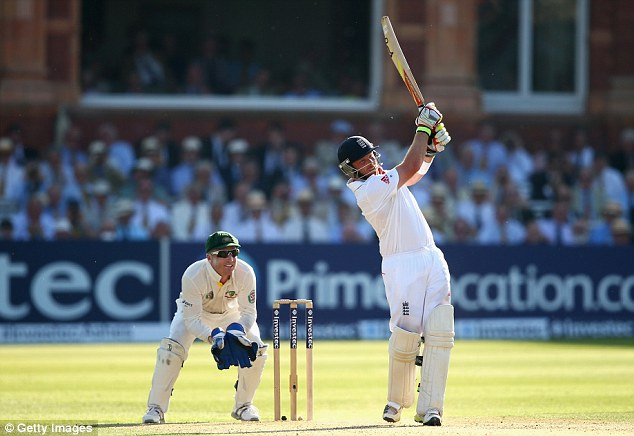 The remedy: Bell's scoring was slow-going but his innings was exactly what England needed