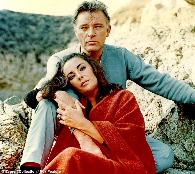 Burton and Taylor in their 1965 film The Sandpiper: The BBC drama focuses on the last act of the Burton-Taylor romance, when they starred together in Noel Coward's Private Lives