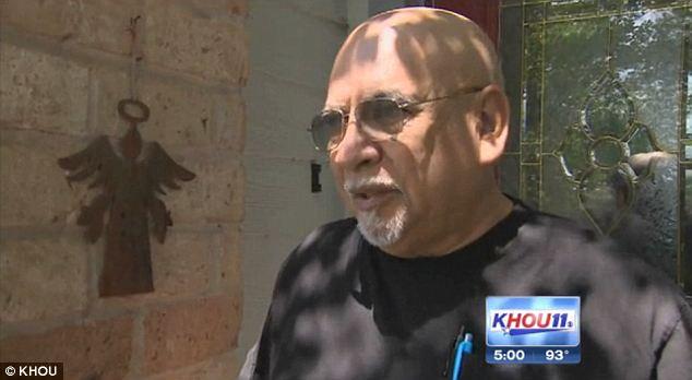 Appalled: Neighbor Sammy Nara said his 9-year-old grandson won't be playing around the neighborhood any longer