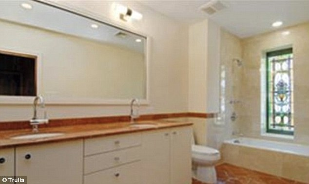 Master bathroom: There's plenty of room for getting ready with his and hers sinks
