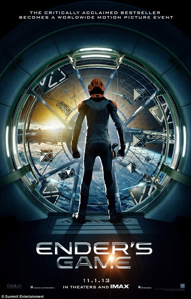 Highly anticipated: Ender's Game is slated for release on November 1