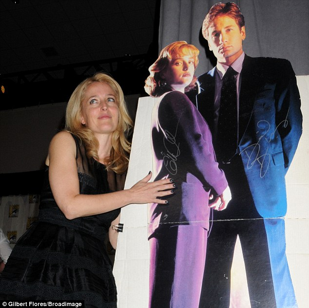 Looking back: Gillian appears to still remain fond of her X-Files alter ego