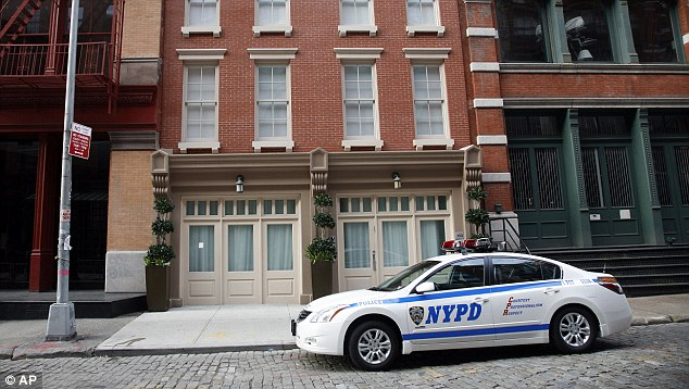 Court case: Ms Held is now suing the NYPD for breach of privacy after claiming that a police officer took pictures from her mobile while she was being questioned by other officers
