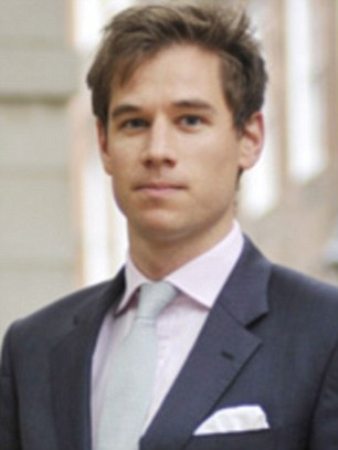 The best of the Bar? Patrick Hennessey, a former Army officer, has topped a list of the most attractive barristers in Britain