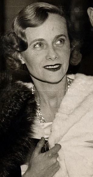 Viscountess Castlerosse in 1936