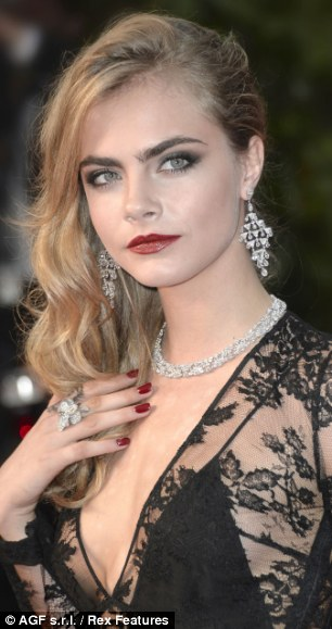 Cara Delevingne at the 'The Great Gatsby' film premiere