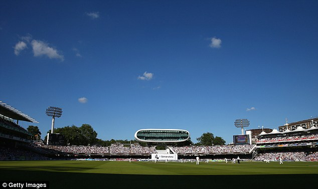 Wish you were there? Lord's was once again bathed in sunshine for the second day's play