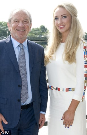 Firm favourite: A BBC insider said Lord Sugar was ¿rather taken¿ with 'Dr Leah'