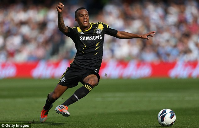 Academy product: Ryan Bertrand has been at Chelsea since he was a junior