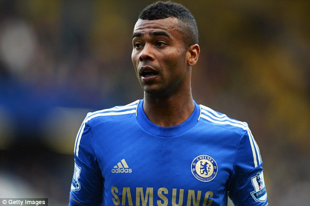 Man in possession: Ashley Cole has signed a new contract at Chelsea