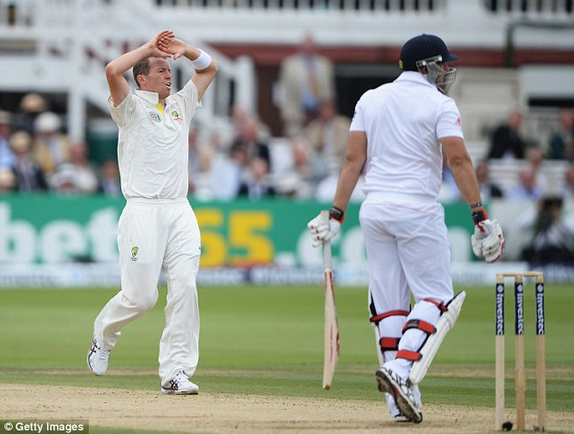 So bear yet so far: Siddle reacts after another missed opportunity