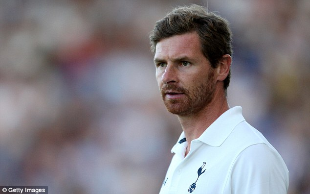 No thanks: Andre Villas-Boas did not want to talk about Barcelona and sent his best wishes to Vilanova