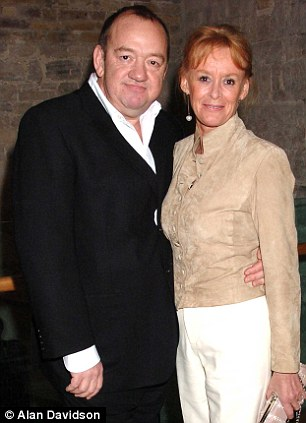 Shock: Mel, pictured with his wife Pam in 2005, had been battling ill health for some time