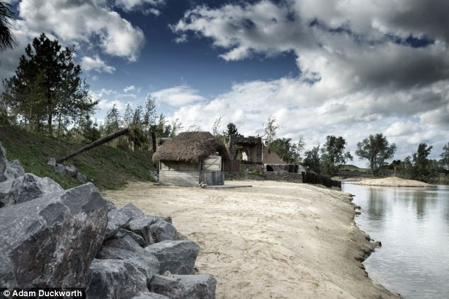 Pieces of eight: The island was commissioned by a young multimillionaire with a penchant for pirates