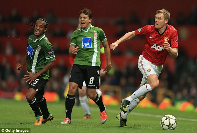 Frustrations: Fletcher had wanted to return last season but was restricted to largely substitute appearances
