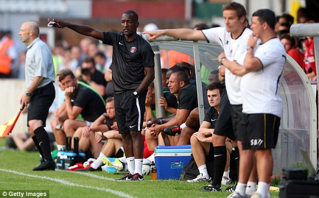 Ambitious: Chris Powell is one of the most promising managers in the Football League