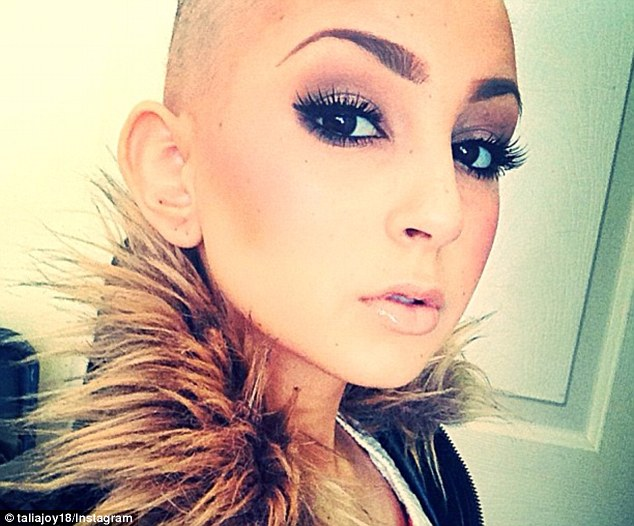 Beauty sensation: Fans of Talia Joy Castellano, who tragically lost her six year battle with cancer last Tuesday, are campaigning for MAC cosmetics to launch a make-up line in her honor