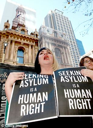 Protest: The shock policy has sparked violent protests in Sydney as critics blame the government for 'exploiting people¿s private despair for cheap political gain'