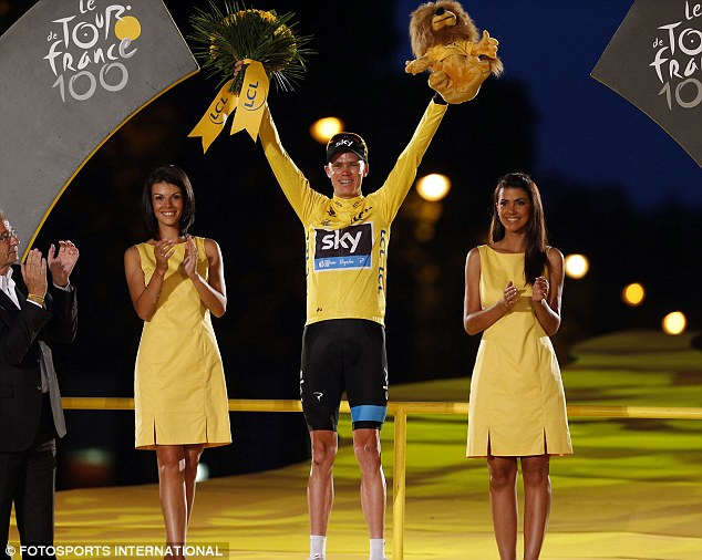Accusations: Tour de France winner Chris Froome has had to deal with a barrage of claims that he is doping