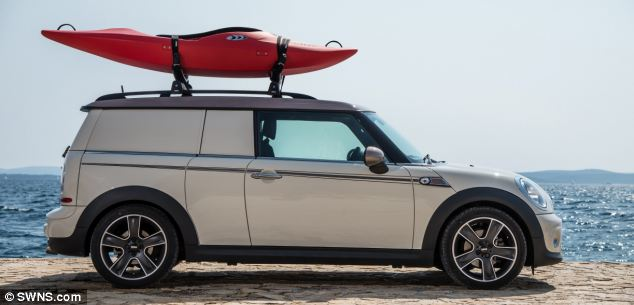 The Mini Clubman Camper is one of the company's three concept vehicles designed to show off the creativity and skill of its design and engineering staff