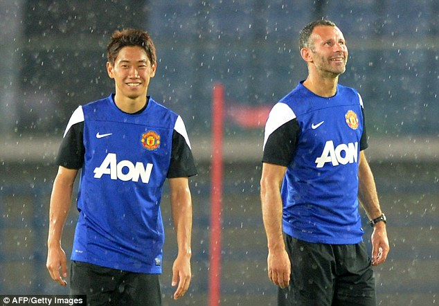 Intent on succeeding: Shinji Kagawa says that he made the right decision to move from Borussia Dortmund