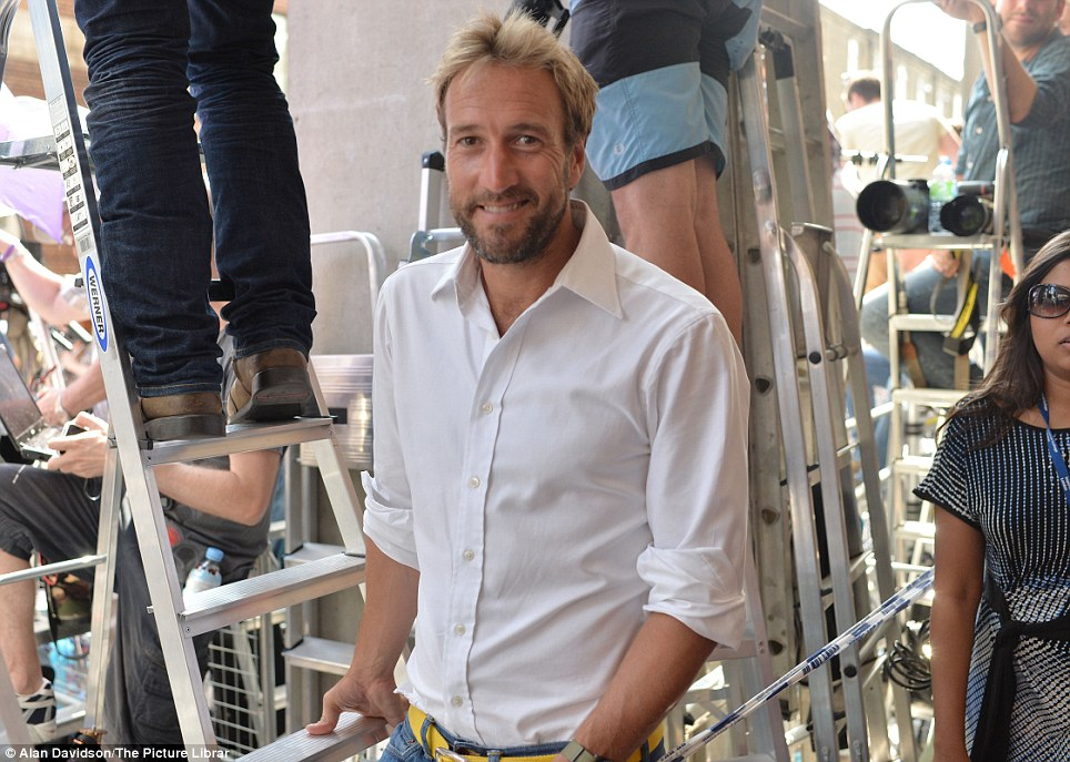 Popping by: TV star Ben Fogle's sister was also admitted to the Lindo wing at 8am this morning to have her baby