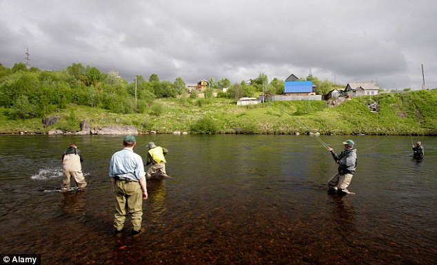 Ultimate destination: Salmon anglers on the 'untouched' Kola peninsula