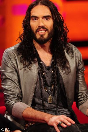 Further controversy: Russell Brand suggested it was a 'dishonest scandal' because it was hijacked by those against the BBC