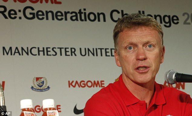 A new generation: Moyes is excited to be taking over from Sir Alex Ferguson
