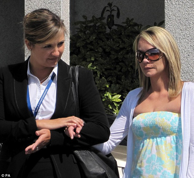Mother-of-two Tina Nash, 33, permanently lost her sight in April 2011 when savage Shane Jenkin, 34, gouged her eyes out
