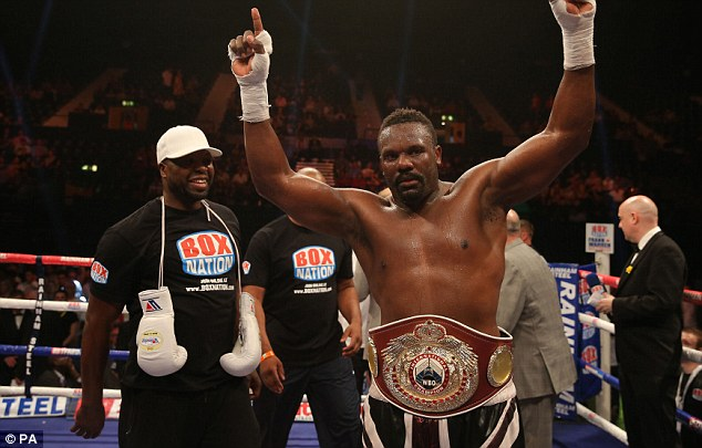 On the up: After a series of knock backs, Chisora's career is progressing once again