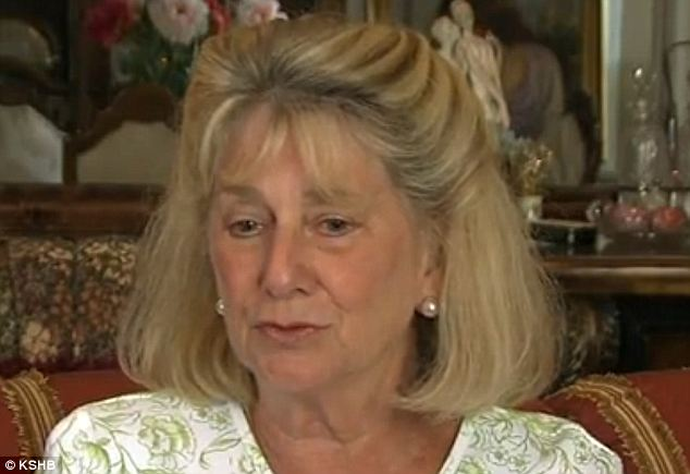 Aggrieved: Donna Limbaugh says neighbor Carl Henrichson kicked her Yorkie and stomped her with both feet but police gave her a citation, not Henrichson